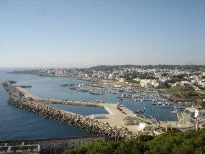 "Santa Maria di Leuca, at the tip of Italy's ""boot"""