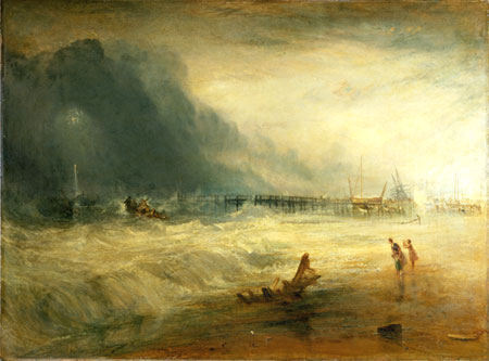 Turner_Stranded ship