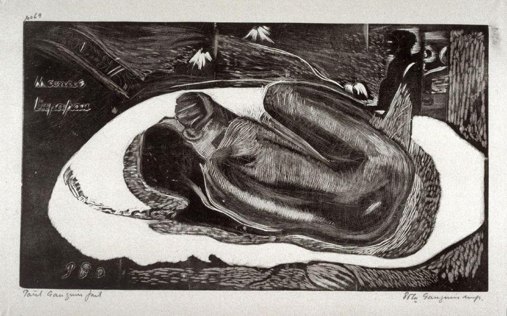 Gauguin_Manao Tupapao